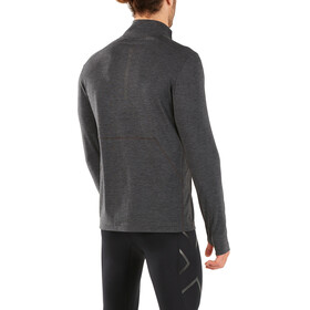2XU M's Heat 1/4 Zip Shirt outer space/outer space